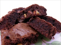 Brownies de tres chocolates 5